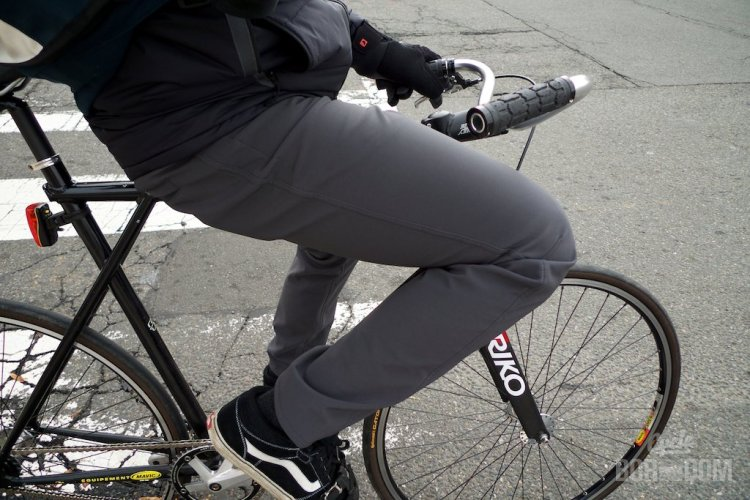 What I'm Riding: swrve Softshell Trousers | Cycleboredom - Chillin' In Trousers
