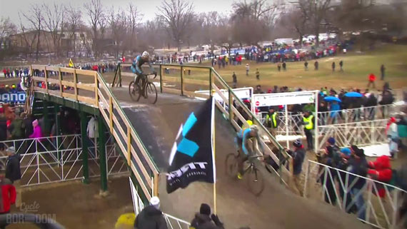Screencap Recap: 2013 UCI Cyclocross World Championships - Klaas And Sven
