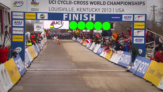 Screencap Recap: 2013 UCI Cyclocross World Championships - START!!