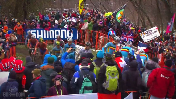 Screencap Recap: 2013 UCI Cyclocross World Championships - CROWD DOPING