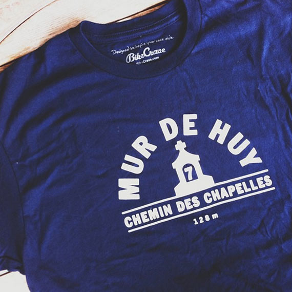 Shirt of the Week: @BikeCrave's Mur de Huy