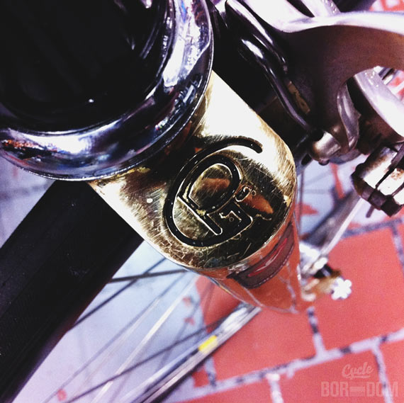 Spotted: 1983 (Possibly) Gold Plated Pinarello (Something)