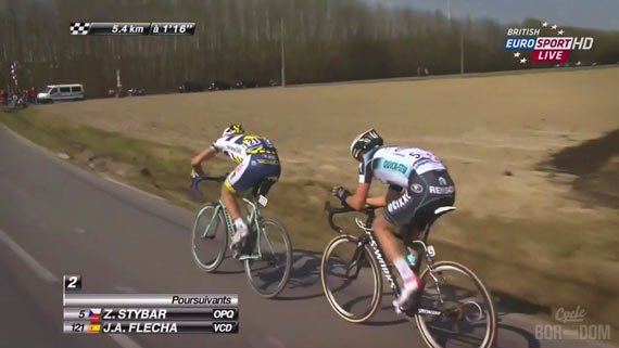 Screencap Recap: Paris-Roubaix 2013 - Flecha Flap