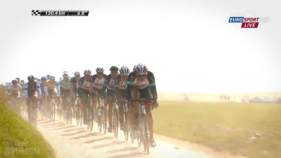 Screencap Recap: Paris-Roubaix 2013 - RSLT Leading