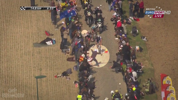 Screencap Recap: Paris-Roubaix 2013 - Roubaix Madness