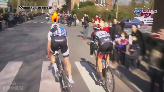 Screencap Recap: Paris-Roubaix 2013 - Sep Burns Another Match
