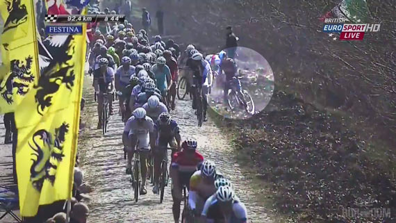 Screencap Recap: Paris-Roubaix 2013 - Thomas Down