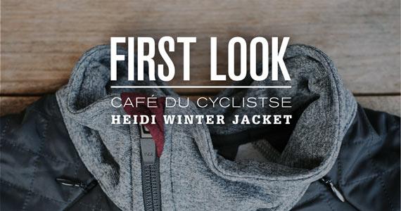 First Look: Café du Cycliste Heidi Winter Jacket