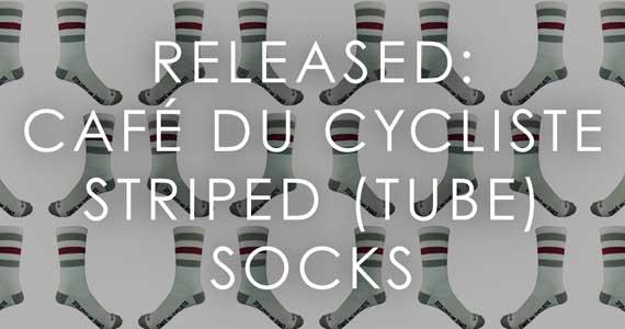 Released: Café du Cycliste Striped (Tube) Socks