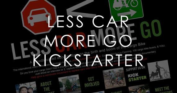 LESS CAR MORE GO: The Cargo Bike Documentary
