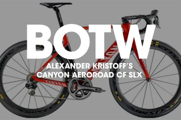 Bike of the Week: Alexander Kristoff's Canyon Aeroroad CF SLX