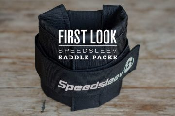 First Look: Speedsleev Saddle Packs