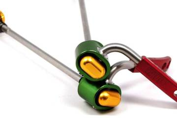 Released: Paul Component Rasta Quick Release Skewer