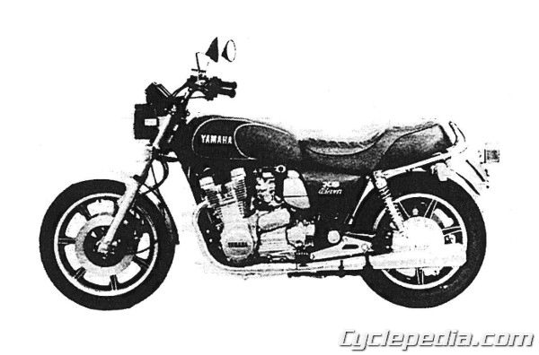 xs1100-11 Yamaha Wiring Diagram For Xs on g1e, big bear 350, big bear 400,