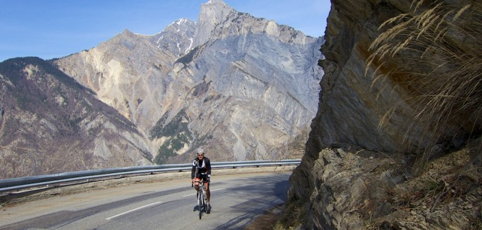 Climb to Col d'Albanne
