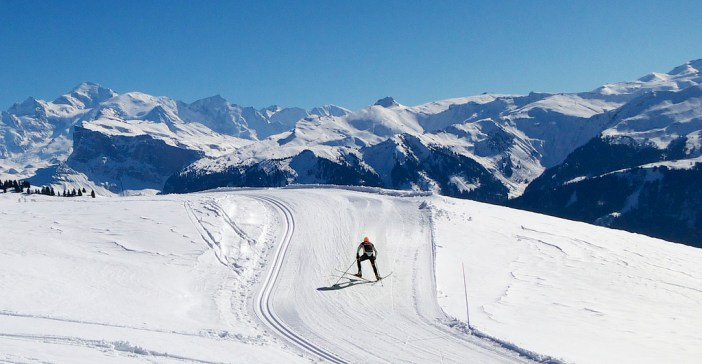 Cross Country Skiing at the Col