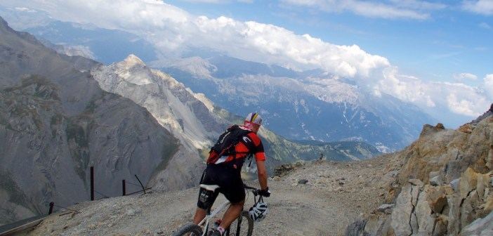"""Twenty of the Highest Unpaved Cycling """"Roads"""" in the Alps"""