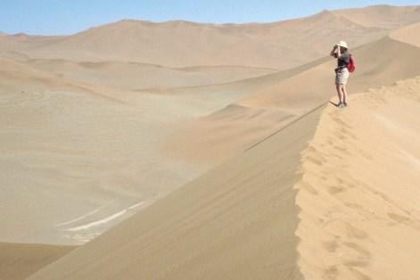 The famous dunes
