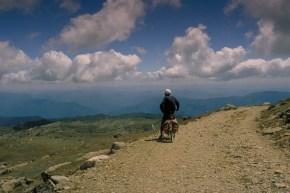 view from Mt Kosciusko
