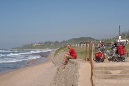 The coast north of Durban