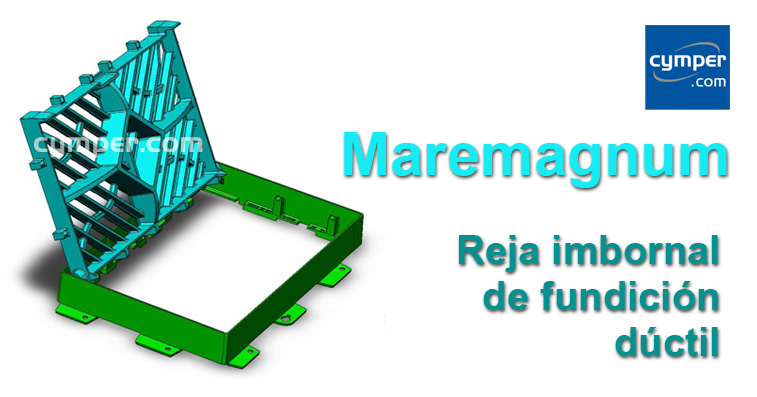 Reja imbornal Maremagnum 750x500 Fundición Dúctil D400 - Portada
