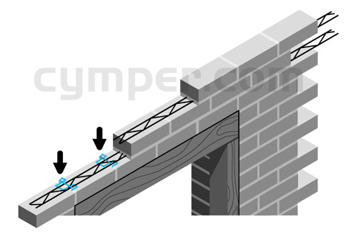 Murfor - Armadura de refuerzo para fábrica de bloques - Imagen 15