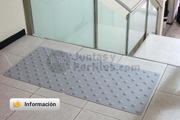 Pavimento podot ctil para mejorar la accesibilidad cymper - Medidas de baldosas ...