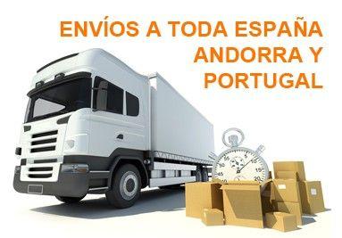 Transporte a toda España, Andorra y Portugal