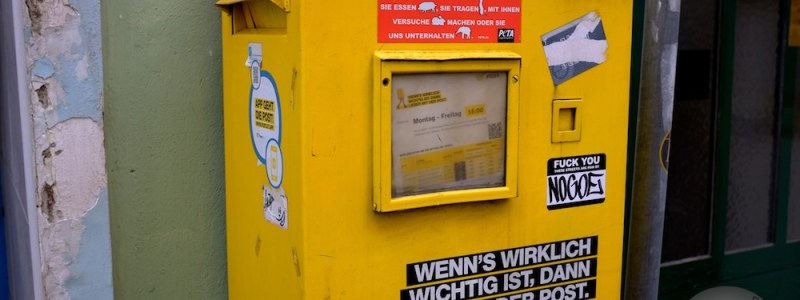 Austrian mailbox