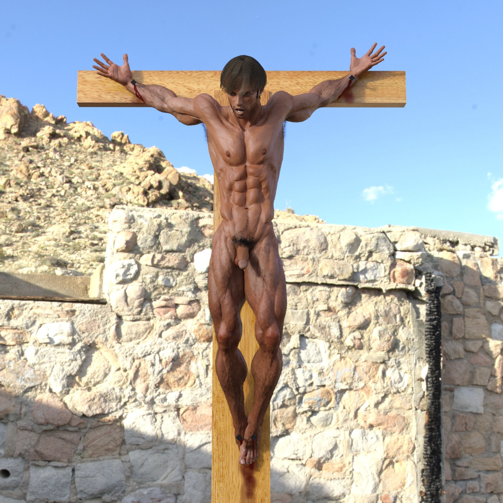 Somebody crucifixion bdsm stories luscious