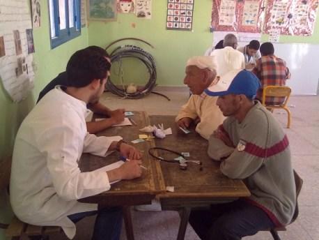 أزيد من 1500 شخص استفادوا من خدمات قافلة طبية في الجماعة القروية تلوات بإقليم ورزازات