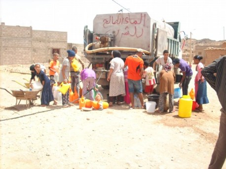 العطش و الجفاف يضربان بقوة قرية سيدي فلاح