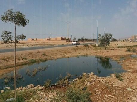 بحيرة واد الحار ببومالن دادس