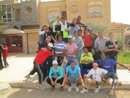 صغارجمعية بومالن دادس لألعاب القوى يفوزون بالرتبة الأولى على صعيد الفرق في سباق العدو الريفي بأكادير