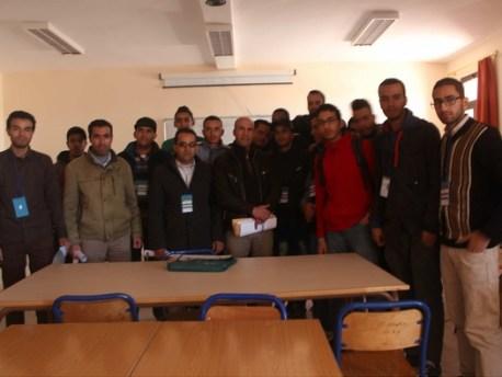 افتتاح فعاليات النسخة الأولى لمسابقة البرمجة بكلية المتعددة التخصصات بورزازات