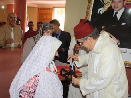 حفل استقبال عاملي لحجاج إقليم تنغير