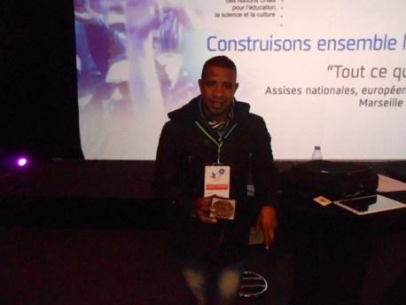 خميس دادس: جمعية دادغ د دين للتنمية  تكرم بمدينة مارسيليا الفرنسية في شخص رئيسها