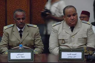 ورزازات :عامل الإقليم يترأس حفلا لتنصيب اثنين من رجال السلطة الجدد.