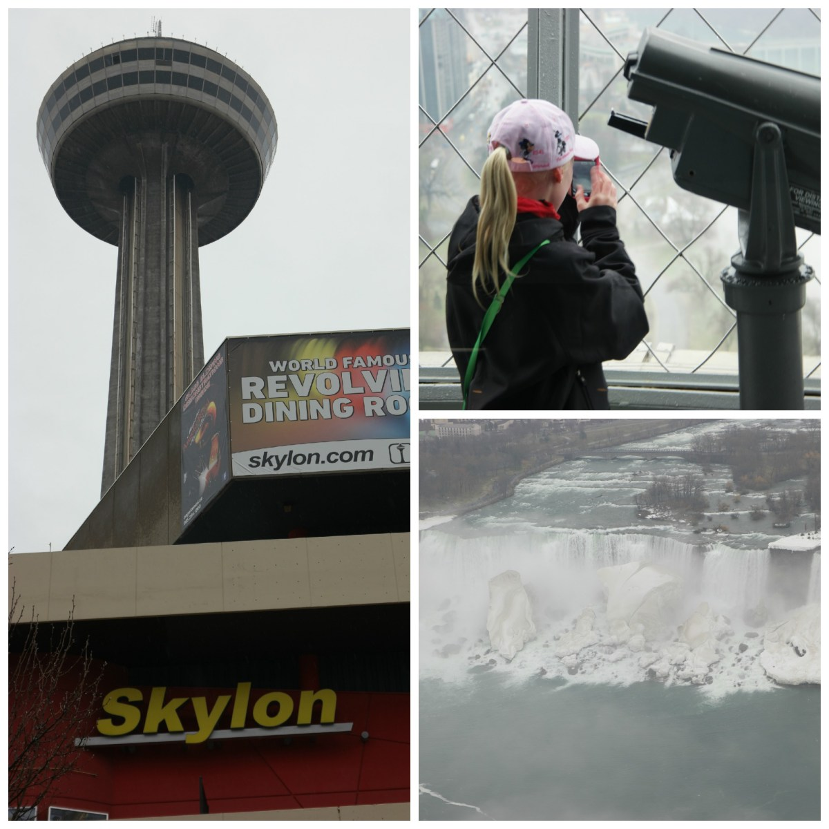 The Skylon Tower in Niagara Falls Ontario Provides Amazing Views!
