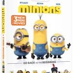 Minions Coming to Digital HD Nov. 24 and Blu-ray & DVD Dec. 8