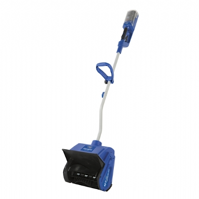 The Snow Joe® iON13SS 40 V 13-inch cordless snow shovel. Ideal for quick, easy and CORD-FREE snow pickups on decks, steps, patios and sidewalks, the iON13SS combines innovation and functionality to deliver the ultimate grab-n-go snow-busting tool.
