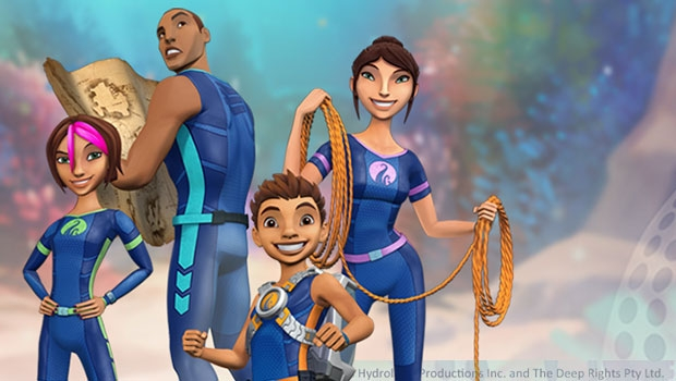 The Deep follows the adventures of the Nekton family—a brilliant team of underwater explorers.