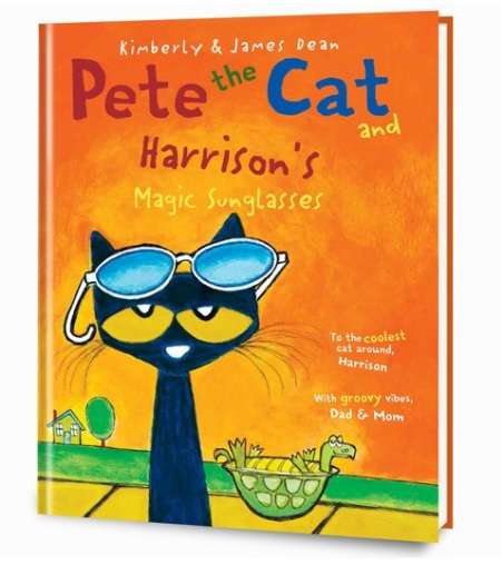 Pete the Cat is having one of those days—the kind where nothing is going his way. But when Grumpy Toad lends Pete a pair of cool, blue, magic sunglasses, that gloomy, dreary day turns itself around!