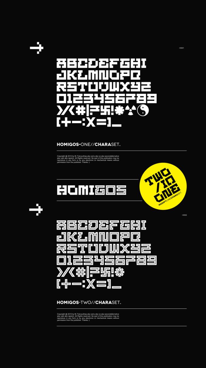 Homigos Free Font Download
