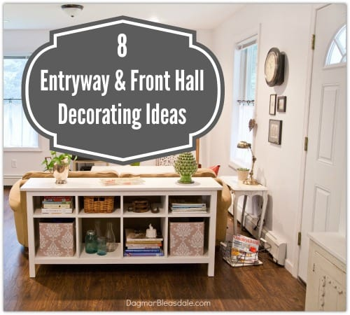 Entry Hall Ideas: My Dream Home: 8 Entryway And Front Hall Decorating Ideas