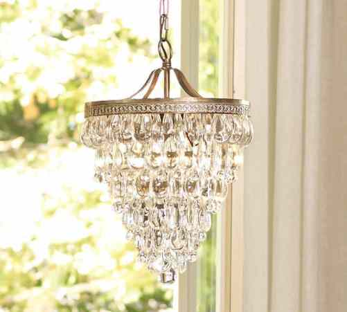How to Find The Perfect Chandelier, DagmarBleasdale.com, Pottery Barn Clarissa glass chandelier