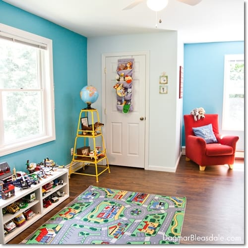 thrifty interior design, boy's room on a budget, DagmarBleasdale.com