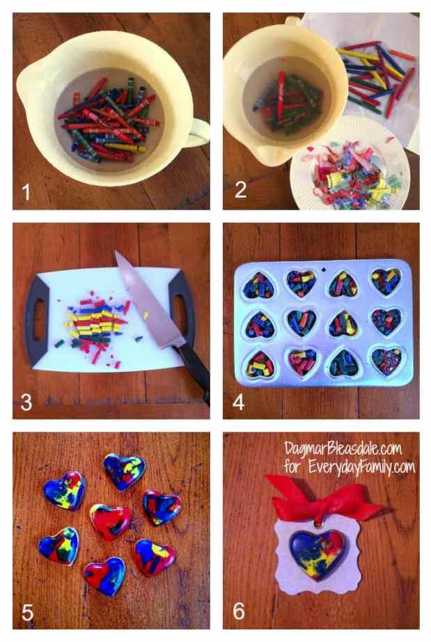 crayon hearts tutorial