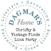 """Dagmar's Home """"Thrifty & Vintage Finds"""" Link Party"""