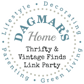 Thrifty & Vintage Finds Link Party, Dagmar's Home